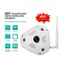 HD 360 Degree Panorama wireless IP VR camera