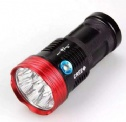 Strong LED flashligth 10800lm